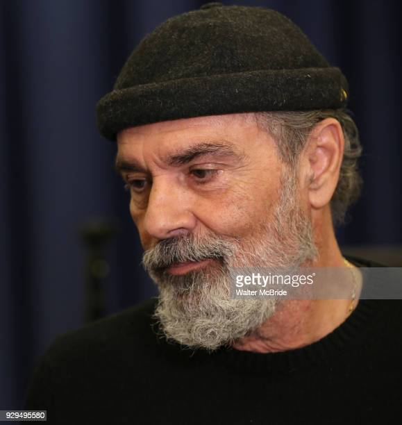 Bruce Sudano attends the press Meet Greet for 'Summer The Donna Summer Musical' on March 8 2018 at the New 42nd Street Studios in New York City