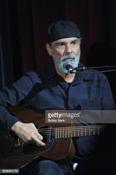 Bruce Sudano performs at City Vineyard on March 6 2018 in New York City