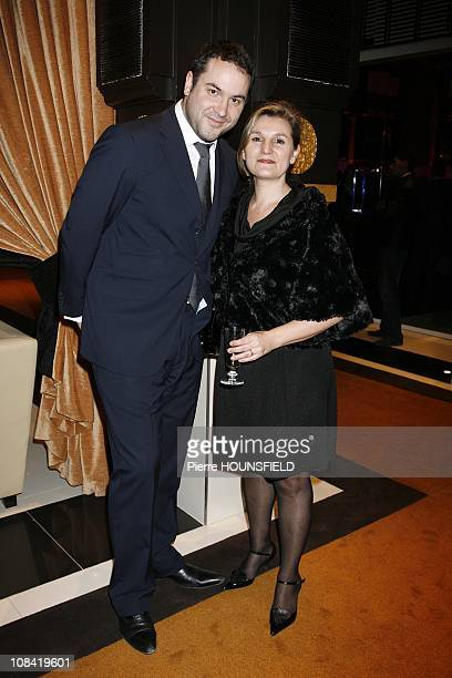 Bruce Toussaint and his wife Catherine at 'Opening of the Naoura Barriere Palace' in Marrakech Morocco on March 07th 2009