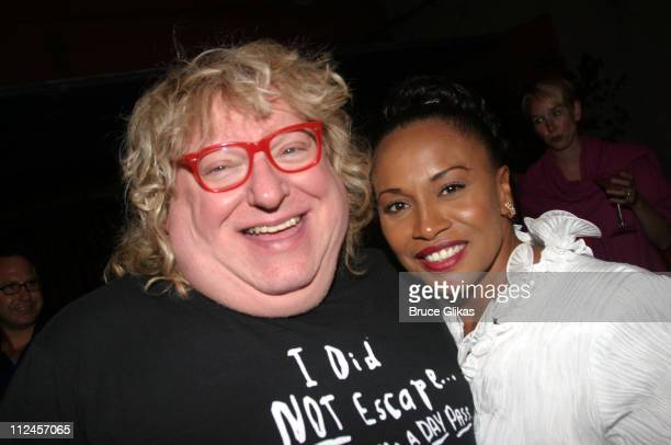 Bruce Vilanch and Jenifer Lewis during 'Hairspray' Opening Night Los Angeles After Party at Henry Fonda Theatre in Hollywood California United States