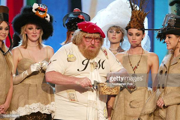 Bruce Vilanch and models during The TV Land Awards Celebration of Classic TV at Hollywood Palladium in Hollywood CA United States