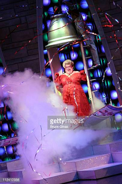 Bruce Vilanch as Edna Turnblad during Bruce Vilanch Makes his Broadway Debut in 'Hairspray' at The Neil Simon Theater in New York City New York...
