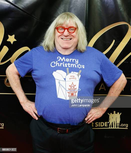 Bruce Vilanch attends the 2017 One Night With The Stars benefit at the Theater at Madison Square Garden on December 4 2017 in New York City