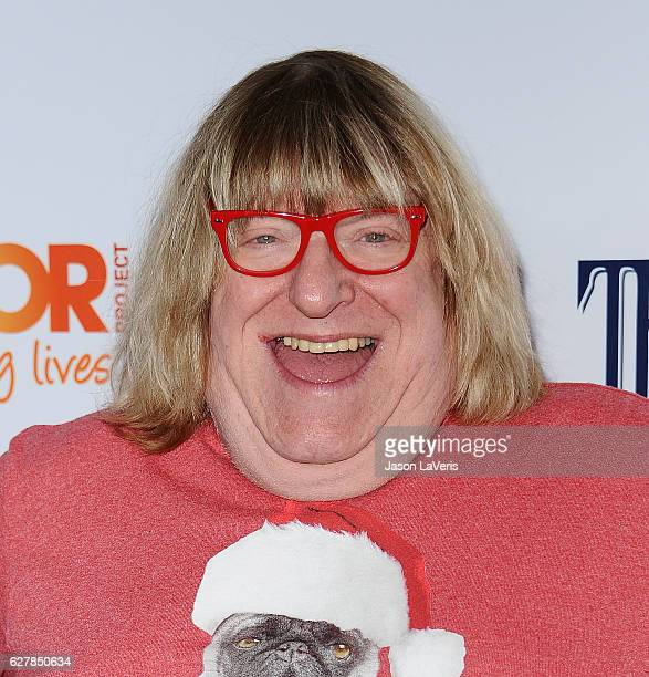 Bruce Vilanch attends the TrevorLIVE Los Angeles 2016 fundraiser at The Beverly Hilton Hotel on December 4 2016 in Beverly Hills California