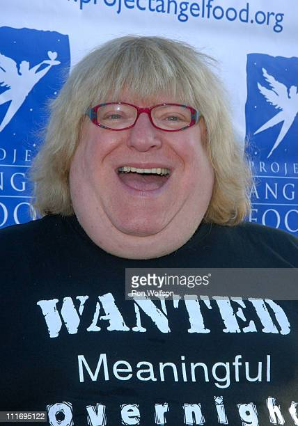 Bruce Vilanch during 13th Annual Angel Awards Honoring Nathan Lane and Disney VoluntEARS at Project Angel Food in Hollywood California United States