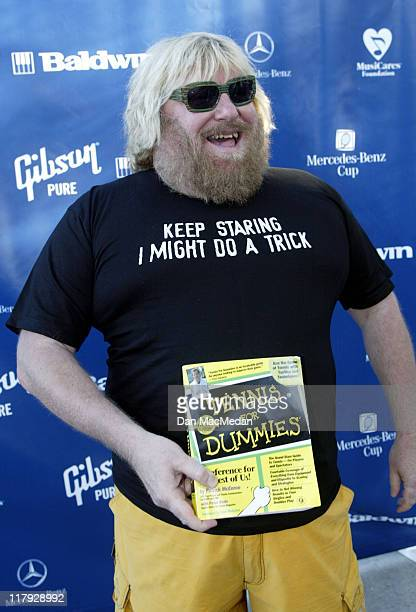 Bruce Vilanch during 2002 MercedesBenz Cup 'A Night at the Net' Arrivals at Los Angeles Tennis Center UCLA in Los Angeles California United States