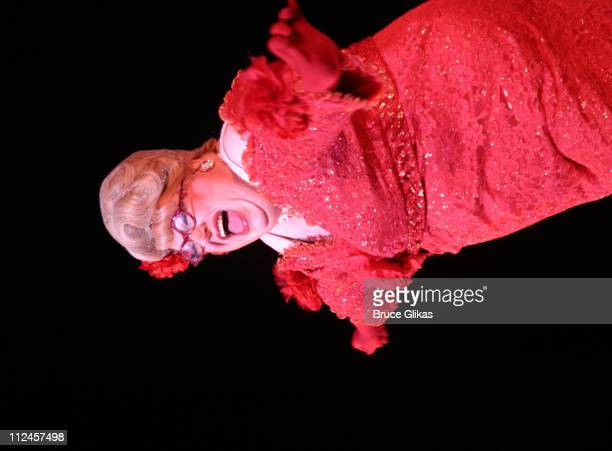 Bruce Vilanch during 'Hairspray' Opening Night Los Angeles Backstage and Show at Pantages Theatre in Los Angeles California United States
