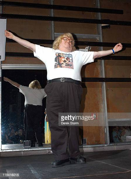 Bruce Vilanch during Next Magazine's Out There Awards 2005 at Crowbar in New York City New York United States