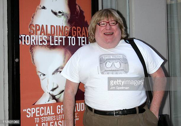 Bruce Vilanch during Whoopi Goldberg Joins the Cast of the OffBroadway Hit 'Spalding Gray Stories Left To Tell' for OneNightOnly at The Minetta Lane...