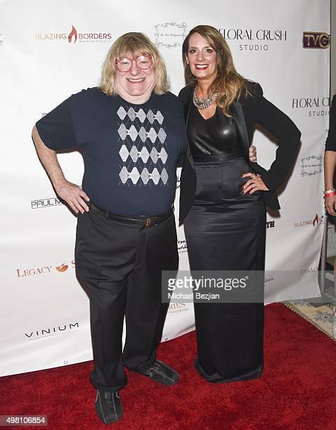 Bruce Villance and Lisa Haisha arrive at 2nd Annual Legacy Series Charity Gala at The Casa Del Mar Hotel on November 20 2015 in Santa Monica...