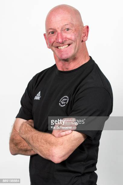 Bruce Wakefield poses during the NZOC general headshots session on September 29 2017 in Christchurch New Zealand