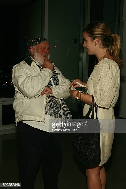 Bruce Webber and guest attend LOUIS XIII Celebrates WALLPAPER'S Guest Editor LOUISE BOURGEOISE with HELMUT LANG at Cheim Reid and Glasshouses on...