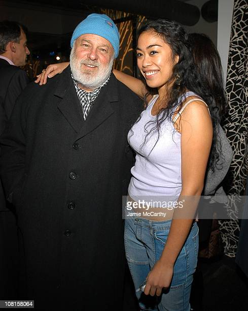 Bruce Weber and Tiffany Limos during Song Airways Presents Natalia Vodianova's To Russia with Love Benefit for the Naked Heart Foundation at Diane...
