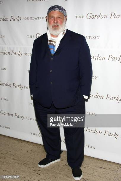 Bruce Weber attends Celebrating Fashion Gala Awards Dinner to Support The GORDON PARKS Foundation at Gotham Hall on June 2 2009 in New York City