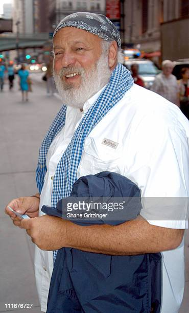 Bruce Weber during Isaac Mizrahi High / Low Fall 2004 Fashion Show at Cipriani in New York City New York United States