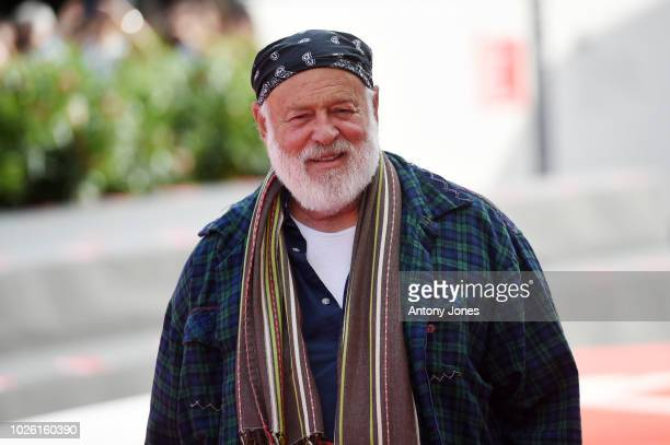Bruce Weber walks the red carpet ahead of the 'My Brilliant Friend ' screening during the 75th Venice Film Festival at Sala Grande on September 2...