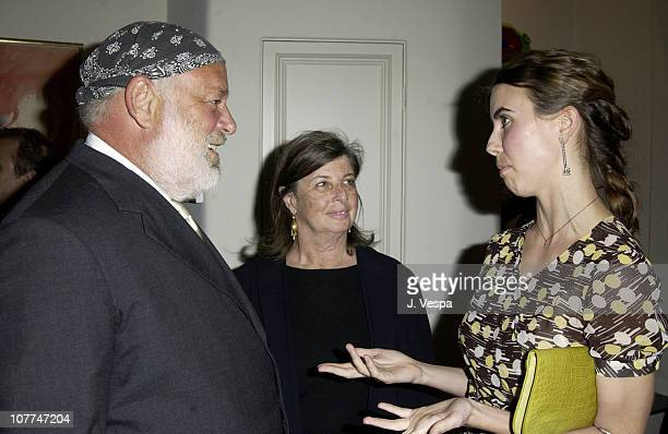 Bruce Weber with his wife Nan Bush and Naomi Wilding