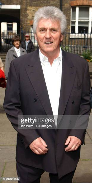 Bruce Welch arrives for a memorial service at St Paul's Church in London's Covent Garden to celebrate the life of sixties legend Lonnie Donegan...