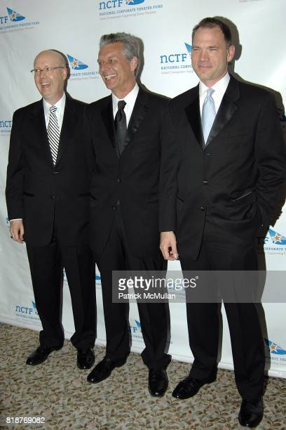 Bruce Whitacre Michael Ritchie and Todd Shultze attend NATIONAL CORPORATE THEATRE FUND'S' 2010 Chairman's Awards Gala' at The St Regis Hotel on April...