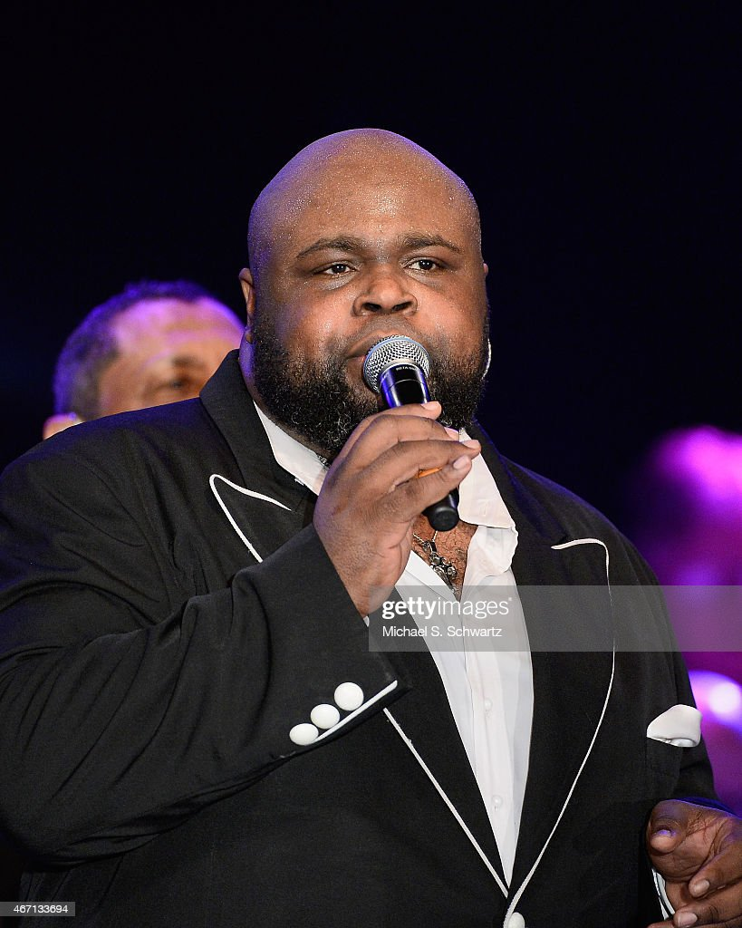 Bruce Williamson performs during The Temptations appearance at The Canyon Club on March 20, 2015 in Agoura Hills, California.