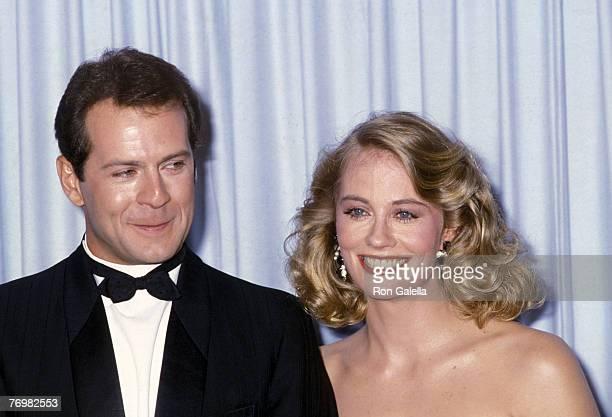 Bruce Willis and Cybil Shepherd