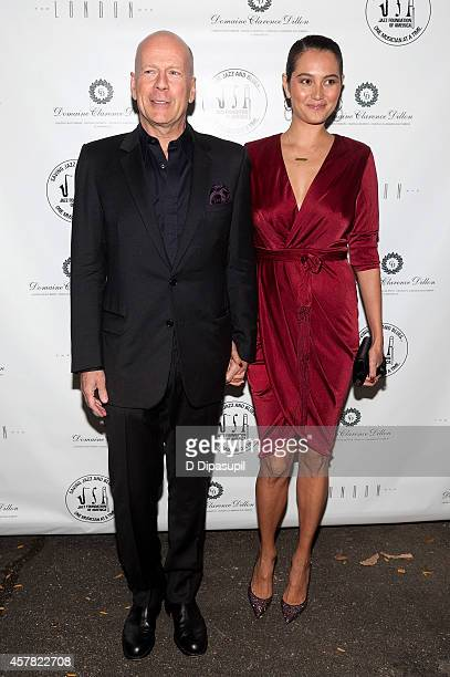 Bruce Willis and wife Emma HemingWillis attend The Jazz Foundation Of America's 13th Annual 'A Great Night In Harlem' Gala Concert at The Apollo...