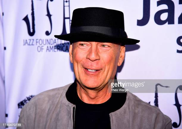 Bruce Willis attends the 17th Annual A Great Night In Harlem at The Apollo Theater on April 04, 2019 in New York City.