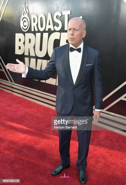 Bruce Willis attends the Comedy Central Roast of Bruce Willis at Hollywood Palladium on July 14 2018 in Los Angeles California