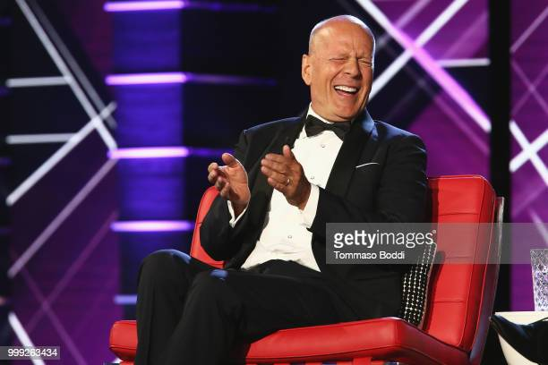 Bruce Willis attends the Comedy Central Roast Of Bruce Willis on July 14 2018 in Los Angeles California