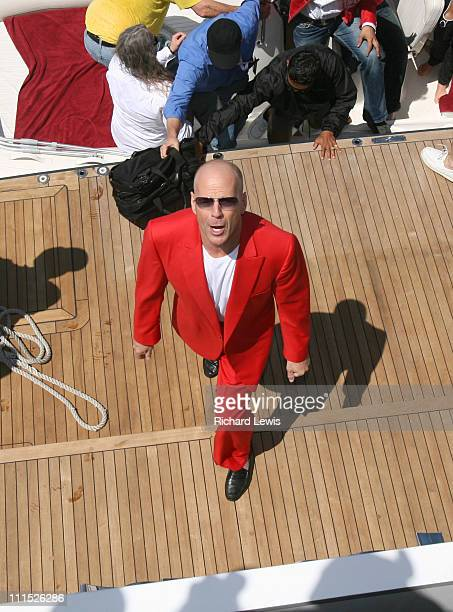 Bruce Willis during 2006 Cannes Film Festival The Big Red Book Launch at RM Elegant in Cannes France