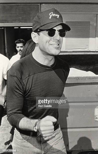 Bruce Willis during Bruce Willis Sighting at The Forum in Los Angeles June 14 1987 at The Forum in Los Angeles California United States