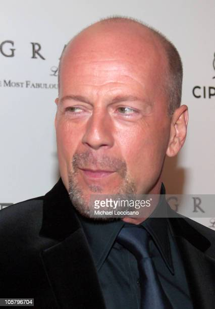 Bruce Willis during Petra Nemcova Hosts the 'Light of Heart' Gala to Benefit the Happy Hearts Fund at Cipriani Wall Street in New York City New York...