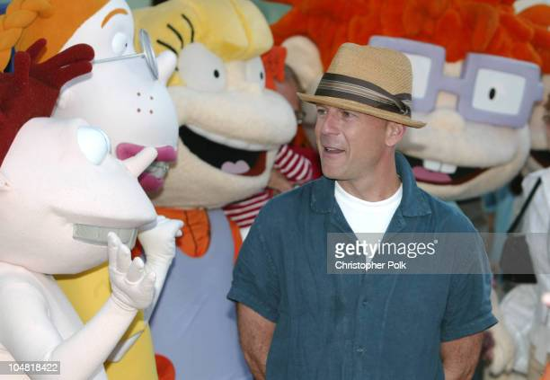 Bruce Willis during World Premiere of 'Rugrats Go Wild' at Hollywood in Hollywood California United States