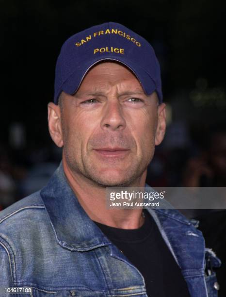 Bruce Willis during 'XXX' Premiere in Los Angeles at Mann's Village in Westwood California United States