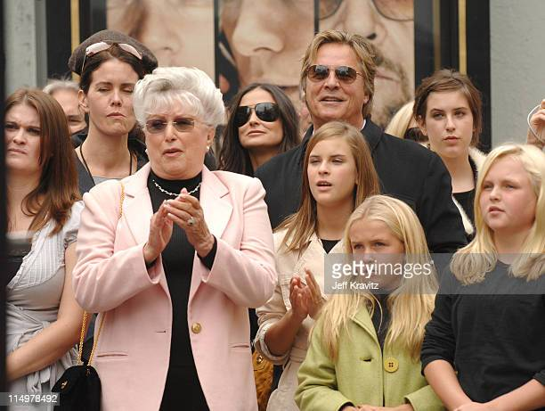 Bruce Willis' mother Marlene Demi Moore Tallulah and Scout Willis