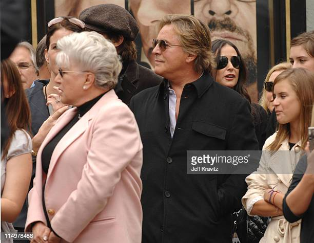 Bruce Willis' mother Marlene Don Johnson and Tallulah Willis