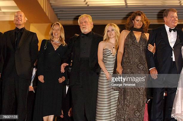 Bruce Willis Nick Nolte Avril Lavigne and William Shatner
