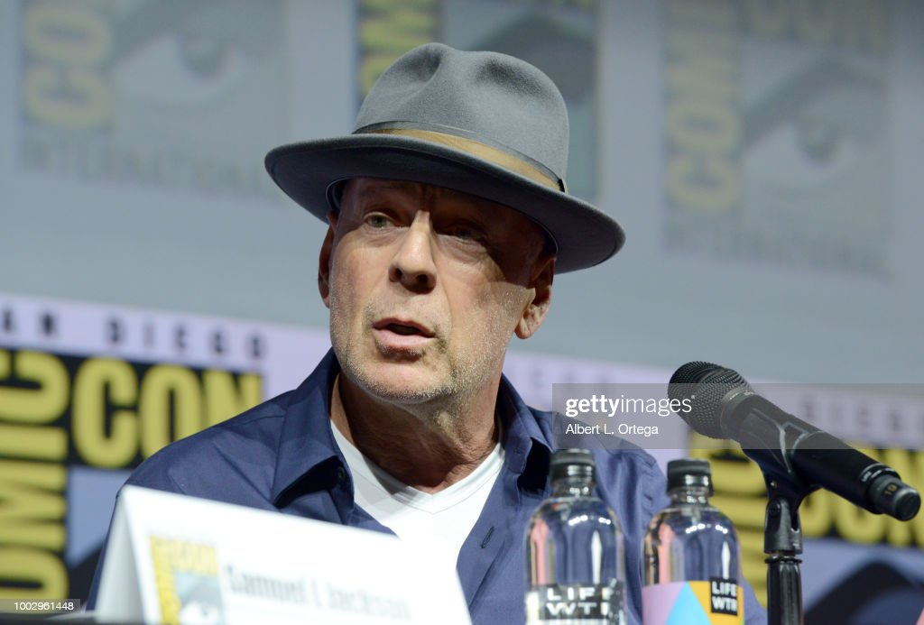 """Comic-Con International 2018 - Universal Pictures' """"Glass"""" And """"Halloween"""" Panels : News Photo"""