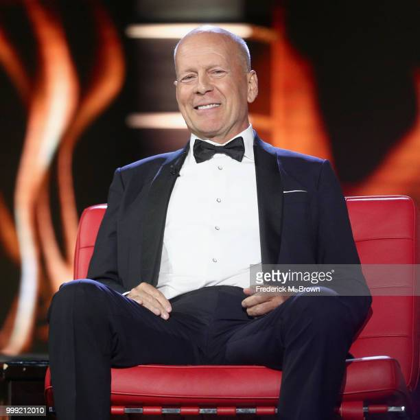 Bruce Willis speaks onstage during the Comedy Central Roast of Bruce Willis at Hollywood Palladium on July 14, 2018 in Los Angeles, California.