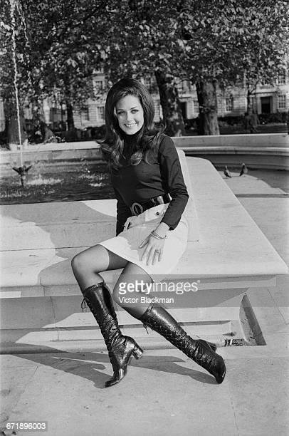 Brucene Smith Miss United States in the Miss World 1971 contest UK 2nd November 1971
