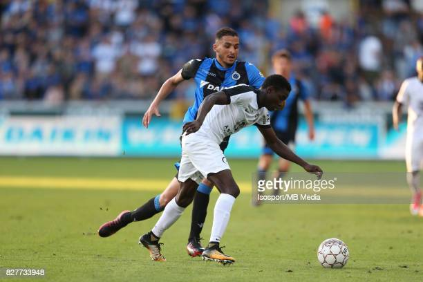 20170806 Bruges Belgium / Club Brugge v As Eupen / 'nAhmed TOUBA Moussa WAGUE / Football Jupiler Pro League 2017 2018 Matchday 2 / Picture by Vincent...