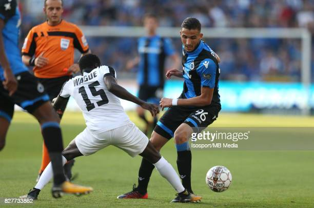 20170806 Bruges Belgium / Club Brugge v As Eupen / 'nMoussa WAGUE Ahmed TOUBA / Football Jupiler Pro League 2017 2018 Matchday 2 / Picture by Vincent...