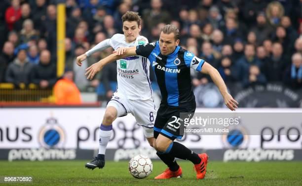 20171217 Bruges Belgium / Club Brugge v Rsc Anderlecht / 'nPieter GERKENS Ruud VORMER'nFootball Jupiler Pro League 2017 2018 Matchday 19 / 'nPicture...