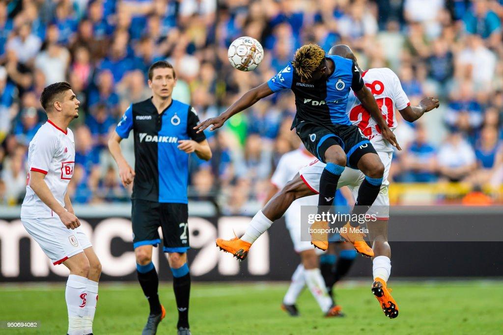 Bruges Belgium Club Brugge V Standard De Liege Abdoulay Diaby