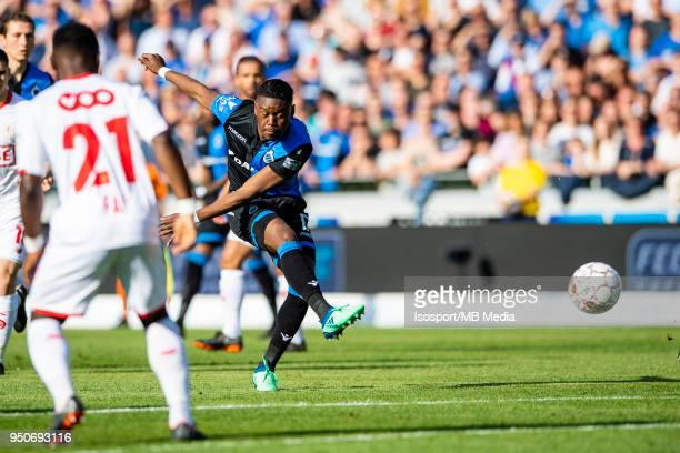 20180422 Bruges Belgium / Club Brugge v Standard de Liege / Anthony LIMBOMBE'n'nFootball Jupiler Pro League 2017 2018 PlayOff 1 Matchday 5 /...