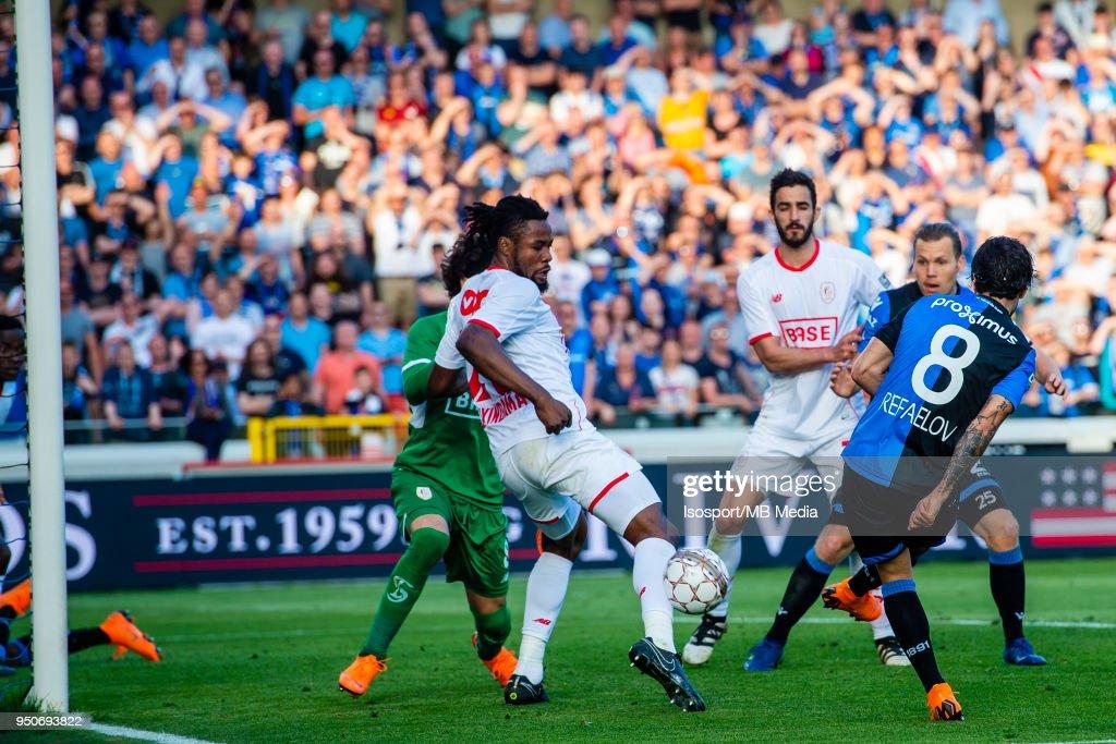 Bruges Belgium Club Brugge V Standard De Liege Lior Refaelov