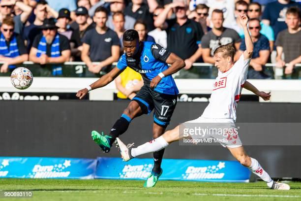 20180422 Bruges Belgium / Club Brugge v Standard de Liege / Valeriy LUCHKEVYCH Anthony LIMBOMBE'n'nFootball Jupiler Pro League 2017 2018 PlayOff 1...