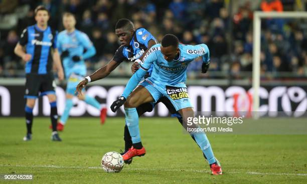 20180116 Bruges Belgium / Croky Cup 1/4 Final Club Brugge v Sporting Charleroi / 'nMarvelous NAKAMBA Dodi LUKEBAKIO'nBelgian Cup 1/4 Final'nPicture...
