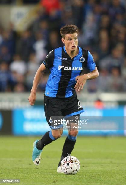 Club Brugge v Aek Athens / Jelle VOSSEN / Football Uefa Europa League 2017 2018 PlayOffs 1st leg / Picture Vincent Van Doornick / Isosport