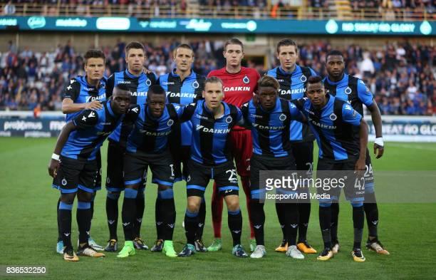 Club Brugge v Aek Athens / Team picture / Football Uefa Europa League 2017 2018 PlayOffs 1st leg / Picture Vincent Van Doornick / Isosport